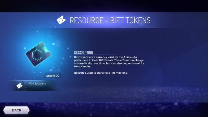 Rift Tokens is the currency used to activate challenges in the game (Helix Rift Events) - What type of resources are available in the Assassins Creed Rebellion? - Currency and Shop - Assassins Creed Rebellion Guide