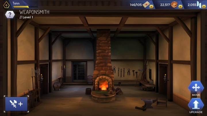 Level: 5 - Types of headquarters rooms in Assassins Creed Rebellion - Headquarters - Assassins Creed Rebellion Guide