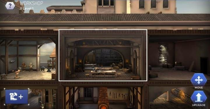 Level: 7 - Types of headquarters rooms in Assassins Creed Rebellion - Headquarters - Assassins Creed Rebellion Guide