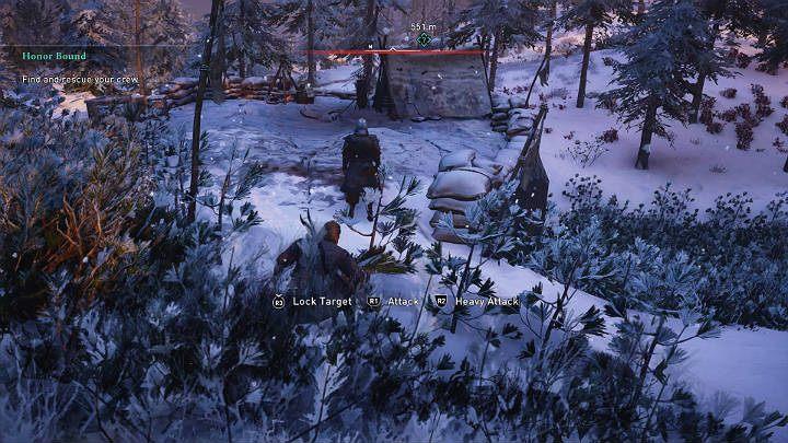 Двигаясь дальше к главной цели миссии, вы начнете знакомиться с людьми Кьотве - прохождение Assassins Creed Valhalla: Honor Bound - Rygjafylke - Assassins Creed Valhalla Guide