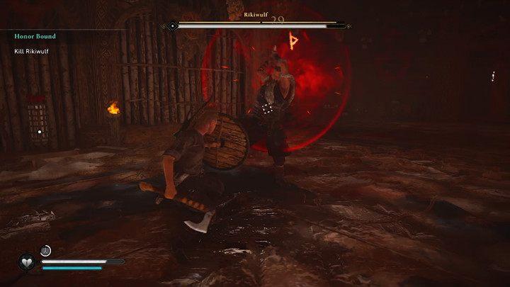 Когда Рикивульф использует двуручный топор, он часто сообщает о своей более сильной атаке - прохождение Assassins Creed Valhalla: Honor Bound - Rygjafylke - Assassins Creed Valhalla Guide