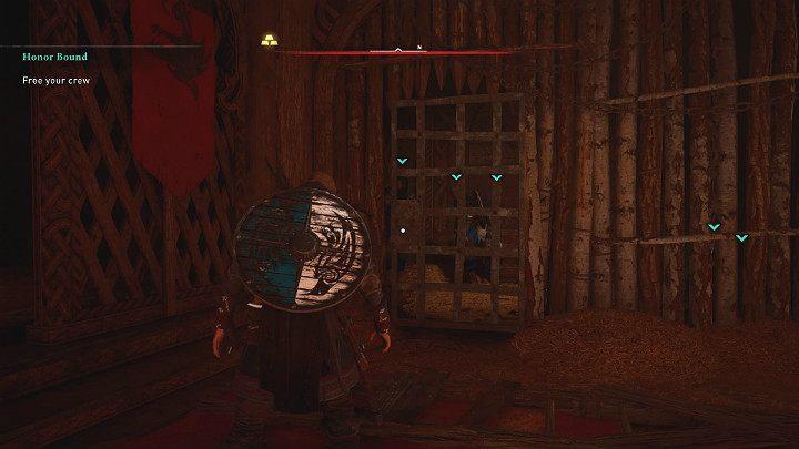 После боя с Рикивульфом освободите первого заключенного от уз и выпустите остальных его товарищей из клетки - Assassins Creed Valhalla: прохождение Honor Bound - Rygjafylke - Assassins Creed Valhalla Guide
