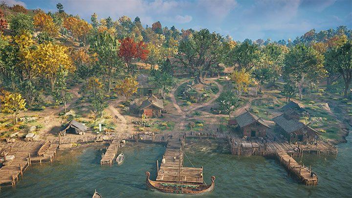 Вы сможете основать поселение вскоре после прибытия в Англию - Assassins Creed Valhalla: Settlement - функции и улучшения - Основы - Руководство по Assassins Creed Valhalla