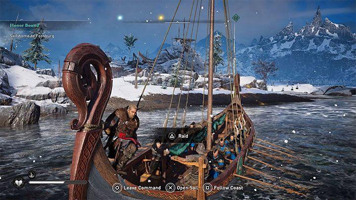Эйвора сопровождает их команда - Assassins Creed Valhalla: Drakkar - корабль, команда, модификация - Основы - Руководство по Assassins Creed Valhalla