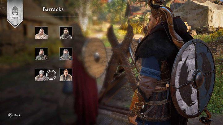Постройте казармы в своем поселении, чтобы разблокировать возможность изменения экипажа Драккара - Assassins Creed Valhalla: Drakkar - корабль, команда, модификация - Основы - Assassins Creed Valhalla Guide