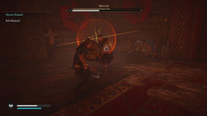 Двойные молоты дают Рикивульфу доступ к дополнительному специальному движению - переднему удару - Assassins Creed Valhalla: битва с боссом Рикивульфа - как победить?  - Боссы - Assassins Creed Valhalla Guide
