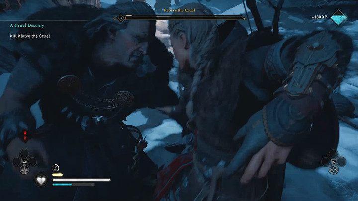 Воспользуйтесь ошибками своего оппонента, уклоняйтесь и контратакуйте, атакуйте на расстоянии, и вам следует быстро разобраться с Кьотве Жестоким, одним из многих боссов, встречающихся в Assassin's Creed Valhalla - Assassins Creed Valhalla: Битва с Кьотве Жестоким боссом - как победить?  - Боссы - Assassins Creed Valhalla Guide