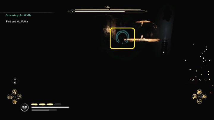Фульк сражается двумя видами оружия: двуручным мечом и кнутом - Assassins Creed Valhalla: битва с боссом Фулька - как победить?  - Боссы - Assassins Creed Valhalla Guide