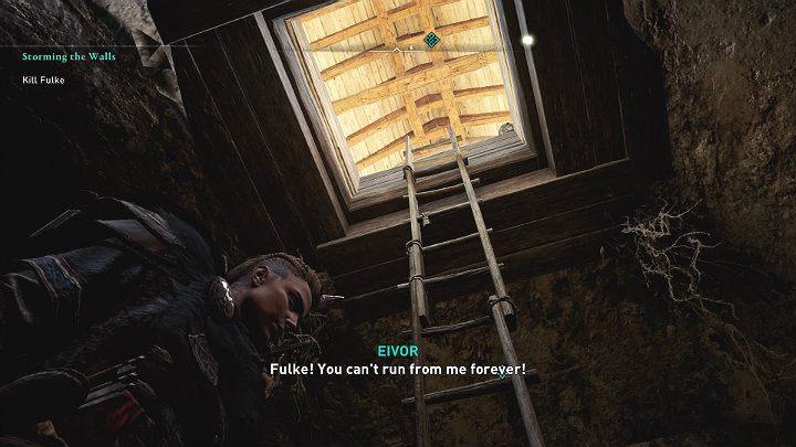 В какой-то момент Фульк воспользуется дымовой шашкой и попытается сбежать - Assassins Creed Valhalla: битва с боссом Фулька - как победить?  - Боссы - Assassins Creed Valhalla Guide