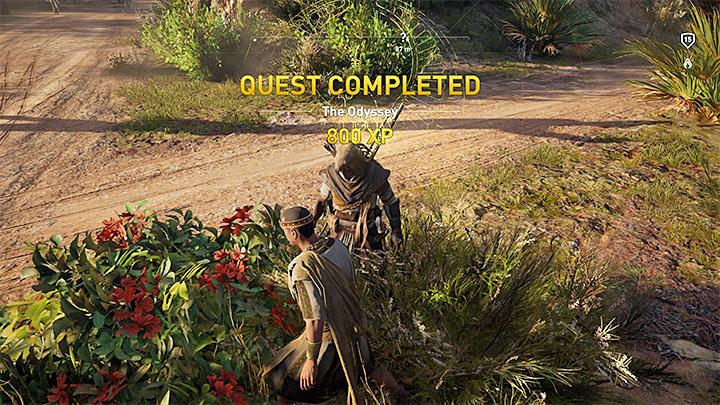 Completar una misión puede recompensarte con unos cientos o incluso algunos miles de XP. ¿Cómo subir de nivel rápidamente en Assassins Creed Origins?  - Preguntas frecuentes - Guía del juego Assassins Creed Origins