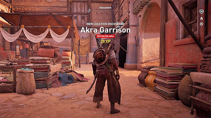 Durante su exploración del mapa, puede observar signos de interrogación: ¿cómo subir de nivel rápidamente en Assassins Creed Origins?  - Preguntas frecuentes - Guía del juego Assassins Creed Origins