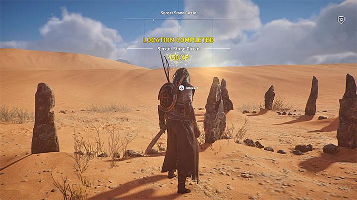 Para completar una ubicación, debes terminar todas sus actividades: ¿cómo subir de nivel rápidamente en Assassins Creed Origins?  - Preguntas frecuentes - Guía del juego Assassins Creed Origins