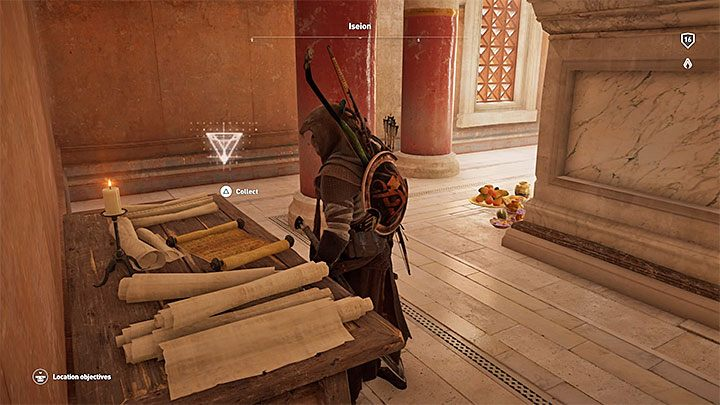 Papyrus Puzzle In Alexandria Assassin S Creed Origins Guide