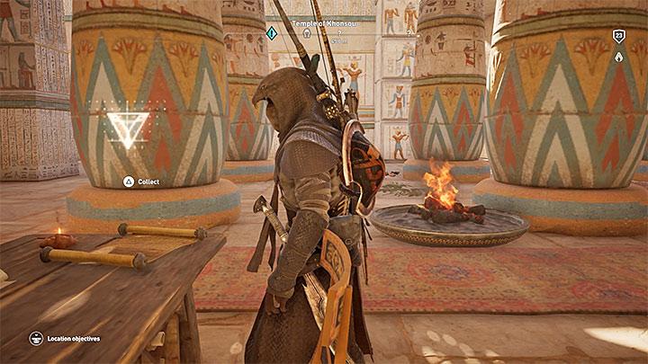 Papyrus Puzzle In Herakleion Nome Assassin S Creed Origins Guide