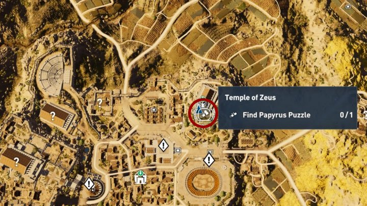 Papyrus Puzzle In Kyrenaika Assassin S Creed Origins Guide