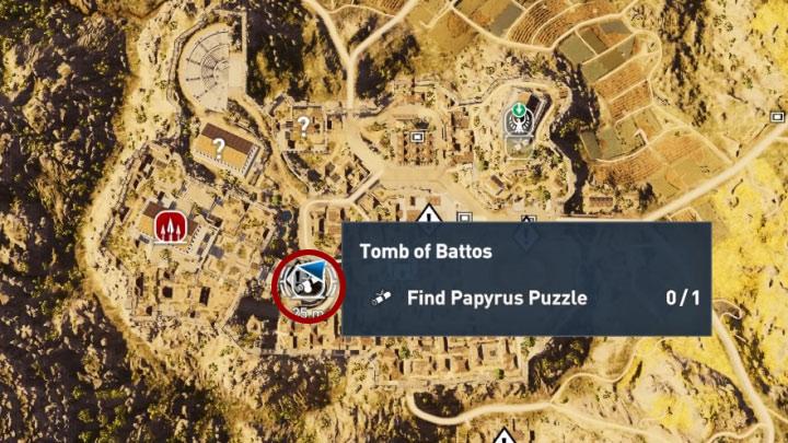 Assassin's Creed Origins guida agli Enigmi dei Papiri