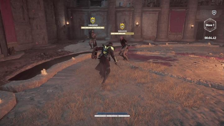 Los jefes de esta arena son dos hermanos: ¿cómo ganar peleas en Krokodilopolis Arena?  - Preguntas frecuentes - Guía del juego Assassins Creed Origins