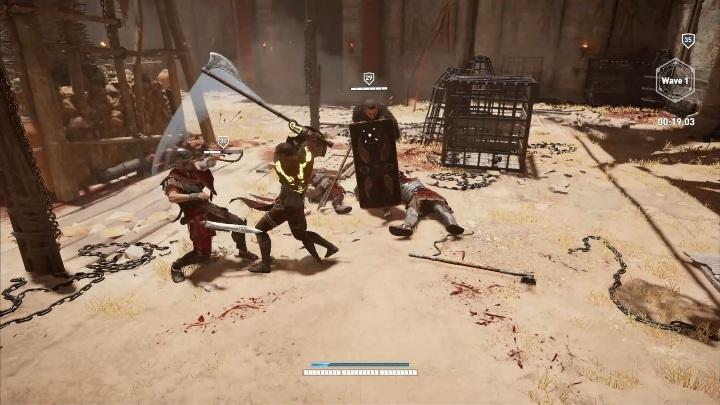 Un hacha es más pesada que una espada. ¿Cómo ganar peleas en Krokodilopolis Arena?  - Preguntas frecuentes - Guía del juego Assassins Creed Origins