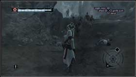 You will be attacked by group of soldiers so use counterattacks carefully. - Arsuf - Memory Block 06 - Assassins Creed (XBOX360) - Game Guide and Walkthrough