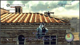 Go to the church marked on the map [1] - Templars Agents | Side Quests - Side Quests - Assassins Creed: Brotherhood Game Guide & Walkthrough
