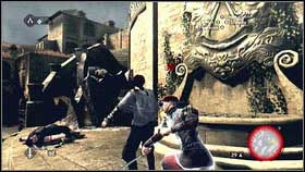 Your character will be wounded but he still can fight - Sequence 1 - Peace at Last - p. 2 - Walkthrough - Assassins Creed: Brotherhood - Game Guide and Walkthrough