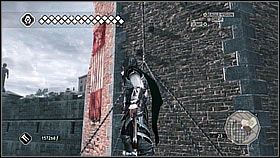 Climb on the first beam and jump to the next one - Main Plot - Sequence 14 - Main Plot - Assassins Creed II - Game Guide and Walkthrough