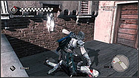 Use the lever and go through the gate - Main Plot - Sequence 14 - Main Plot - Assassins Creed II - Game Guide and Walkthrough