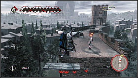 Now you have to fight with some enemies and then climb on the tower - Main Plot - Sequence 14 - Main Plot - Assassins Creed II - Game Guide and Walkthrough