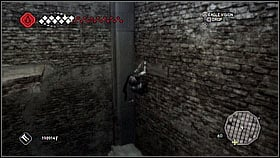 In the water climb on stairs and jump ahead - Forli - Ravaldinos Secret - Dungeons - Assassins Creed II - Game Guide and Walkthrough