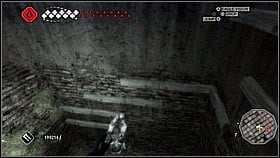Jump between parallel beams [1] until they will begin to turn right - Forli - Ravaldinos Secret - Dungeons - Assassins Creed II - Game Guide and Walkthrough