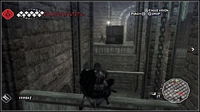 At the top you will see a soldier - of course, kill him - Forli - Ravaldinos Secret - Dungeons - Assassins Creed II - Game Guide and Walkthrough