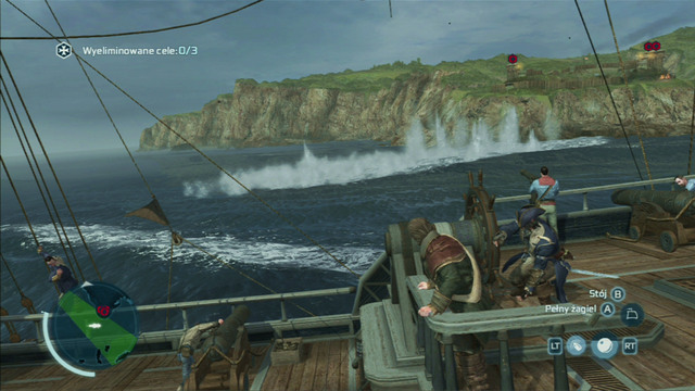Attacking however isn't the most important part here, as avoiding mortar fire which can damage Aquila considerably is crucial - Naval battles - Ships - Assassins Creed III - Game Guide and Walkthrough