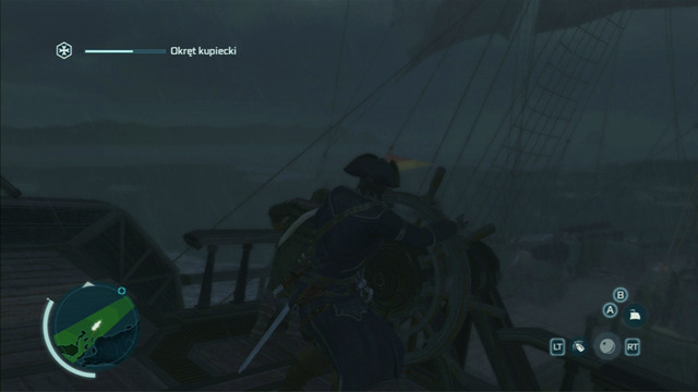 During storms, you will additionally have to look out for waves hitting the deck - Controlling the ship - Ships - Assassins Creed III - Game Guide and Walkthrough