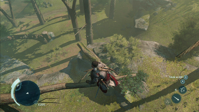 In order to avoid being detected by an animal, use dense bushes and tall trees - Animal occurrence and sneaking - Hunting - Assassins Creed III - Game Guide and Walkthrough