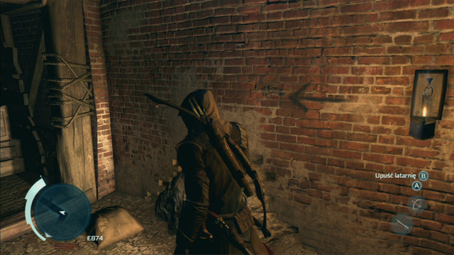 The proper path will be marked by arrows on the walls and special symbols that will become lit after setting fire to torches hanging from the walls (interaction button) - Fast travel - Exploration - Assassins Creed III - Game Guide and Walkthrough
