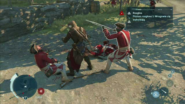 Level 1 - Notoriety levels - Notoriety - Assassins Creed III - Game Guide and Walkthrough