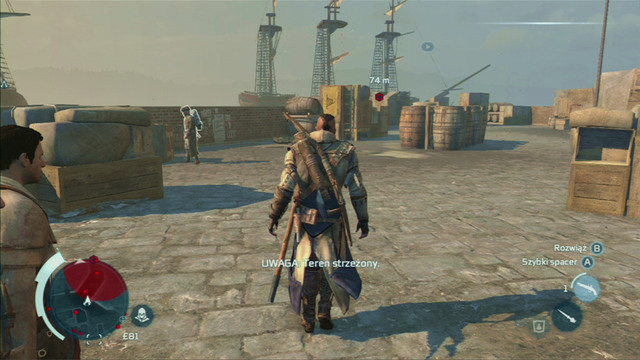 Doing so you will call in your associates who will attack and guard who notices you - Boston - northern district in Assassins Creed III Remastered - Assassin Guild - Assassins Creed III Game Guide & Walkthrough