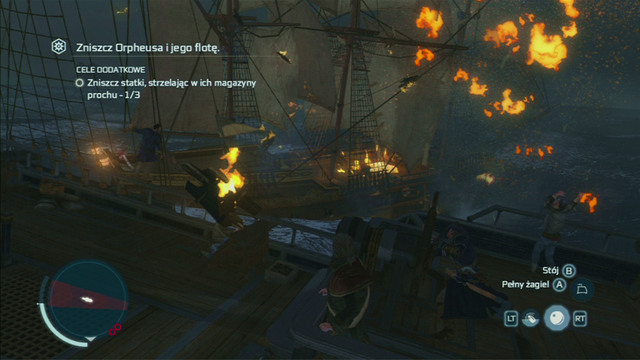 With Randolph immobilised, move on to the other enemies - Biddles Hideout | Naval missions in Assassins Creed III Remastered - Naval missions - Assassins Creed III Game Guide & Walkthrough