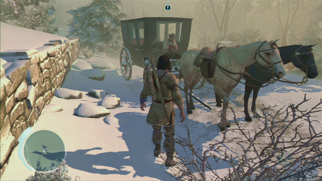 Begin the mission be leaving the manor and speaking with Achilles who's waiting on the carriage - Sequence 5 - A Trip to Boston - Walkthrough - Assassins Creed III - Game Guide and Walkthrough
