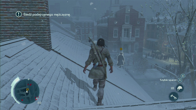 You will receive a mission of following the mysterious man - Sequence 5 - A Trip to Boston - Walkthrough - Assassins Creed III - Game Guide and Walkthrough