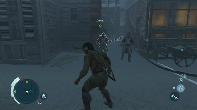A fight will be inevitable only after you reach the sewer entrance - Sequence 5 - Bostons Most Wanted - Walkthrough - Assassins Creed III - Game Guide and Walkthrough