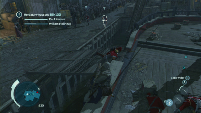 The last mission is a bit harder - Sequence 6 - The Tea Party - Walkthrough - Assassins Creed III - Game Guide and Walkthrough