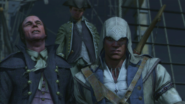 Afterwards help your companions throw the rest of the tea - Sequence 6 - The Tea Party - Walkthrough - Assassins Creed III - Game Guide and Walkthrough