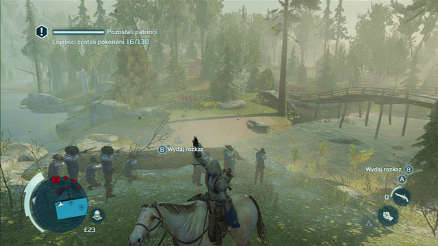 Your task is killing 130 enemies - Sequence 7 - Lexington and Concord - Walkthrough - Assassins Creed III - Game Guide and Walkthrough
