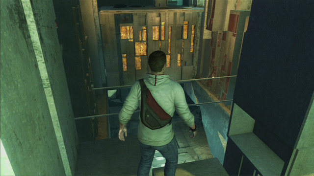 Upstairs, turn left and jump onto two pipes - Sequence 10 - Third Energy Source - Walkthrough - Assassins Creed III - Game Guide and Walkthrough