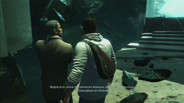 After a short conversation you will be able to return to the Animus at once or speak with the team members beforehand - Sequence 10 - Third Energy Source - Walkthrough - Assassins Creed III - Game Guide and Walkthrough