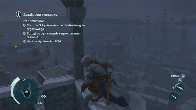 With him dead, climb onto the tower and light the signal fire - Sequence 11 - Lees Last Stand - Walkthrough - Assassins Creed III - Game Guide and Walkthrough