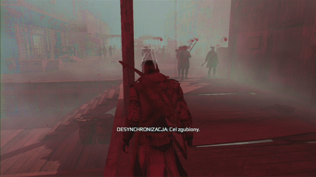 The last group can be avoided by cutting the left turn - Sequence 12 - Chasing Lee - Walkthrough - Assassins Creed III - Game Guide and Walkthrough