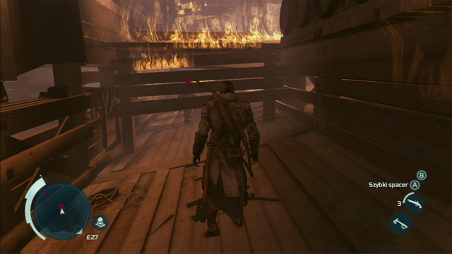 Optional objective: Do not take any fire damage - Sequence 12 - Chasing Lee - Walkthrough - Assassins Creed III - Game Guide and Walkthrough
