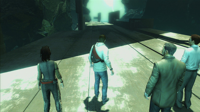 Open the big red gate and afterwards run straight along the path - Sequence 12 - Chasing Lee - Walkthrough - Assassins Creed III - Game Guide and Walkthrough